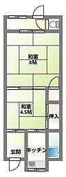 [テラスハウス] 大阪府守口市梶町4丁目 の賃貸【/】の間取り