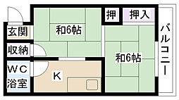 プレアール摂津鳥飼II[305号室]の間取り