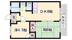 英賀保駅 4.8万円