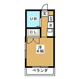 高蔵ハイツ[3階]の間取り