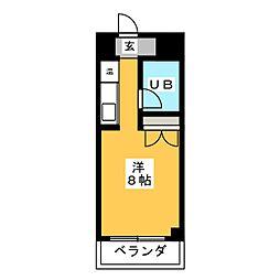 NOA松野[2階]の間取り