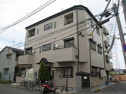 大阪府四條畷市北出町の賃貸マンションの外観