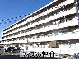 群馬県高崎市高関町の賃貸マンションの外観
