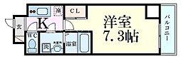 TOYOTOMI STAY PREMIUM 梅田西 5階1Kの間取り