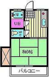 信和荘[1階]の間取り