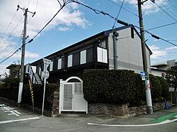 兵庫県西宮市鳴尾町4丁目の賃貸アパートの外観