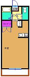 立野マンション[4階]の間取り