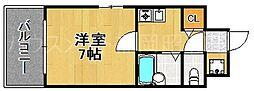アクアリゾート六本松[4階]の間取り