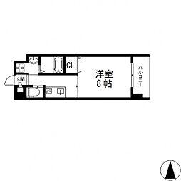 グランドゥーエ永和駅前[207号室号室]の間取り