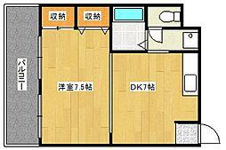 メゾン・ド・ソンジュ[3階]の間取り