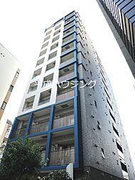 東京都新宿区荒木町の賃貸マンションの外観