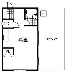 金倉マンション[5階]の間取り