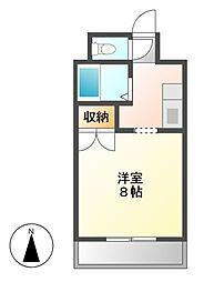 メルベーユI[3階]の間取り