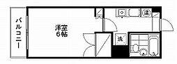 プレステージ新潟[6階]の間取り