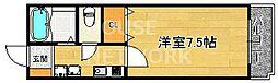 京都府京都市中京区和久屋町の賃貸マンションの間取り