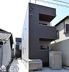 愛知県名古屋市中川区月島町の賃貸アパートの外観