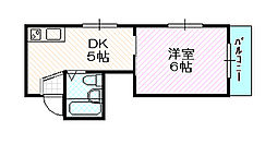 Y'sコート今福鶴見[7階]の間取り