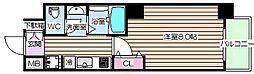 エル海老江[5階]の間取り