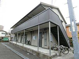 大阪府茨木市東太田4丁目の賃貸アパートの外観