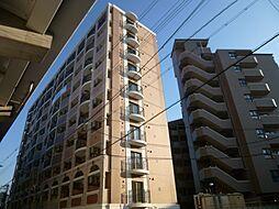 ラグゼ田辺[9階]の外観