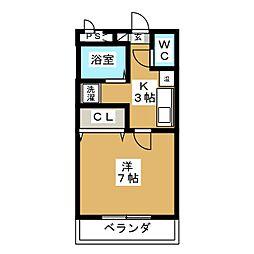 くぬぎハウス[1階]の間取り
