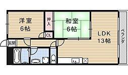 アメニティー91[203号室号室]の間取り