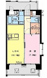 Catarina APT〜カタリナ アパートメント〜[1LDK号室]の間取り