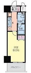 GROOVE NIPPONBASHI(グルーヴ日本橋)[5階]の間取り