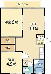 南林間駅 5.8万円