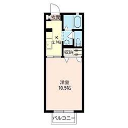 セフィラ 小澤[2階]の間取り