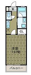 クレストヒル[2階]の間取り