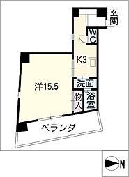 らく富士見[2階]の間取り