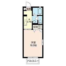 セフィラ 小澤[1階]の間取り