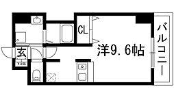 兵庫県川西市小花1の賃貸マンションの間取り