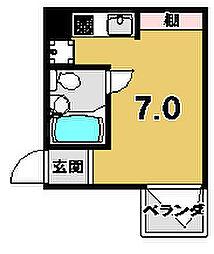 リエス東堀川[207号室]の間取り