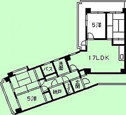 第二定森ビル[2階]の間取り
