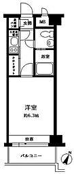 エステートモア平尾山荘通り[7階]の間取り