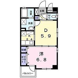 高松マナーハウス[2階]の間取り