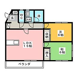 BIS ABOT[2階]の間取り