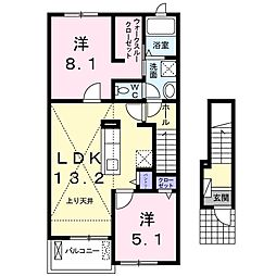 北野駅 5.5万円