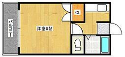 稲益ハイツ[3階]の間取り