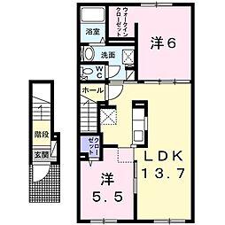 テト[2階]の間取り