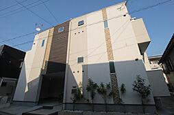 大阪府吹田市金田町の賃貸アパートの外観