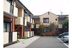 京都府京都市山科区竹鼻立原町の賃貸アパートの外観