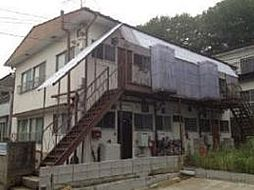 千葉県流山市前ケ崎の賃貸アパートの外観