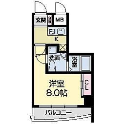 セレニテ甲子園I[0202号室]の間取り
