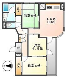ANSWER21[7階]の間取り