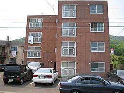 北海道札幌市南区南三十一条西10丁目の賃貸マンションの外観