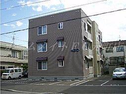 北海道札幌市東区北三十二条東6丁目の賃貸アパートの外観