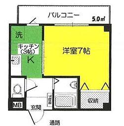 クラシーワ藤[3階]の間取り